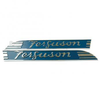 Emblem Set Massey Ferguson Typenschild MF TO20