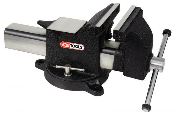 KS Tools Parallel-Schraubstock 8""